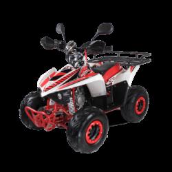 Детский квадроцикл бензиновый MOTAX ATV MIKRO 110 cc бело- красный  (пульт контроля, до 50 км/ч)
